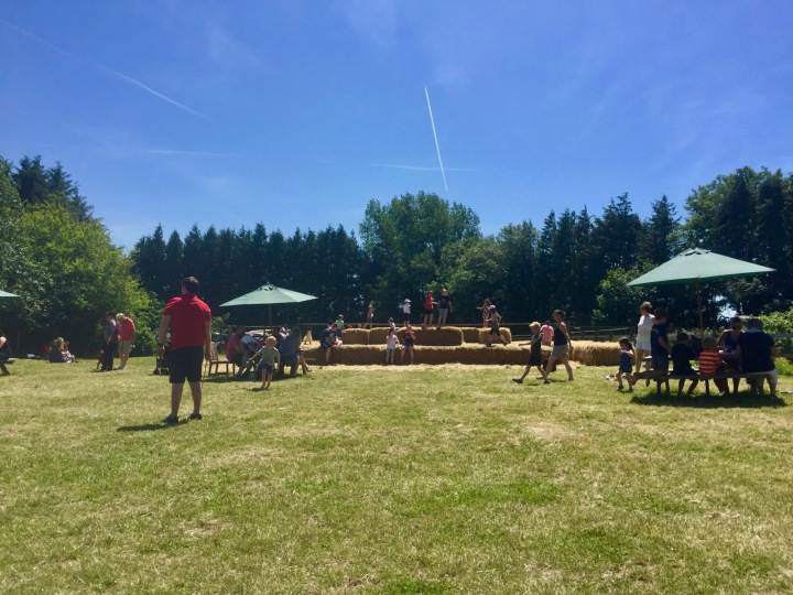 hendrewennol picnic tables