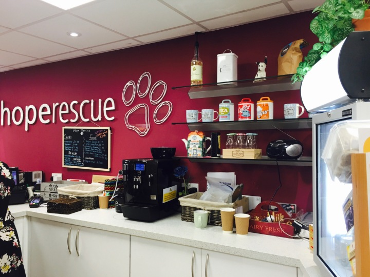 Hope Rescue Cafe coffee