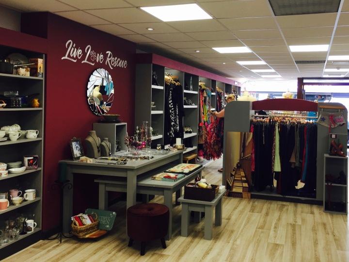 Hope Rescue Cafe Inside Shop
