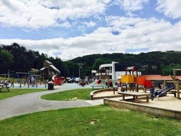Pontypridd Park play area