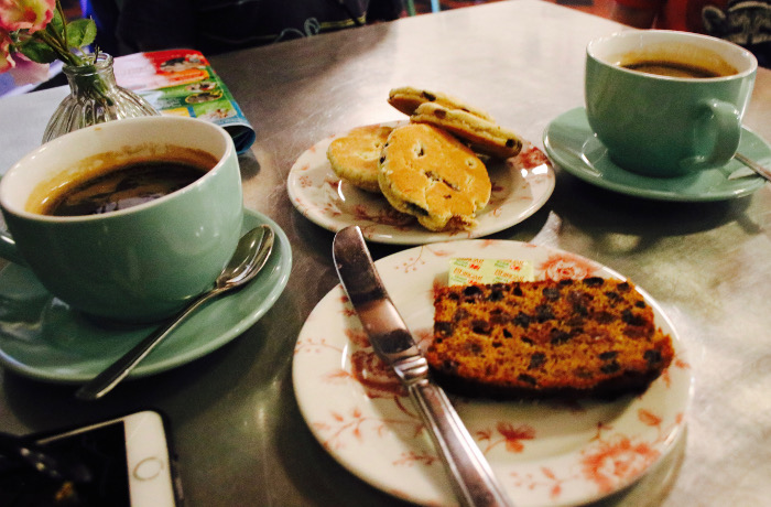 Castell Coch tea and cake