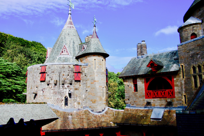 Castell Coch view from gallery